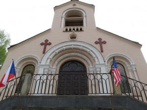 День 12. Флаги на церкви